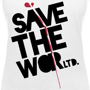 Save The World T-Shirts - Frauen T-Shirt mit V-Ausschnitt