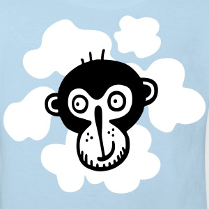 CHIMP SHIRT KIDS WHITE - Kids' Organic T-shirt