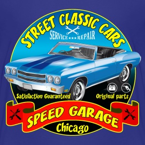 vintage us street car Shirts - Teenage Premium T-Shirt