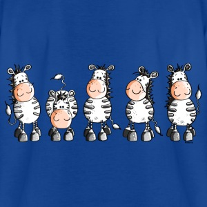 Funny Zebras - Zebra  Shirts - Teenage T-shirt