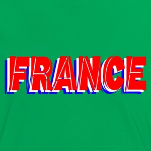 france T-shirts - Vrouwen contrastshirt