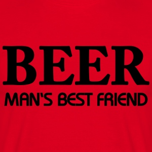 Beer - Man's best friend T-Shirts - Men's T-Shirt