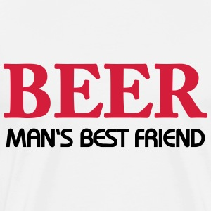 Beer - Man's best friend T-Shirts - Men's Premium T-Shirt