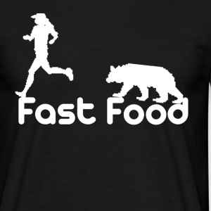 Fast Food White Tee shirts - T-shirt Homme