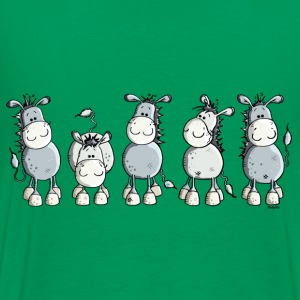 Funny Donkey - Animal T-Shirts - Men's Premium T-Shirt