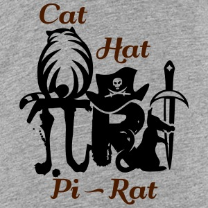 Pi rat (2c) Shirts - Teenage Premium T-Shirt