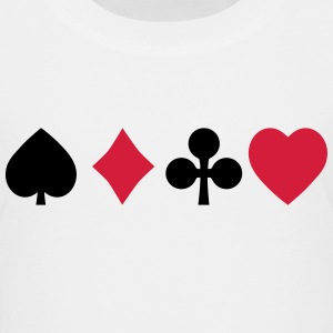 playing cards speelkaarten Shirts - Kinderen Premium T-shirt