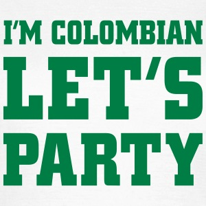 I'm Colombian Let's Party, cairaart.com T-Shirts - Frauen T-Shirt