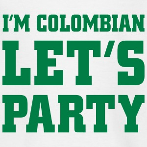I'm Colombian Let's Party, cairaart.com T-Shirts - Kinder T-Shirt