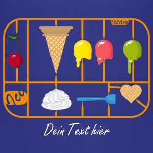 Ice Cream Cone kit Shirts - Teenage Premium T-Shirt
