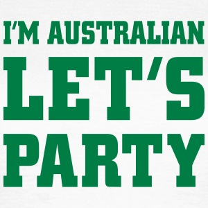 I'm Australian Let's Party, cairaart.com T-Shirts - Women's T-Shirt
