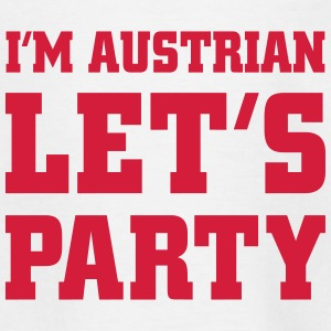 I'm Austrian Let's Party, cairaart.com T-Shirts - Kinder T-Shirt