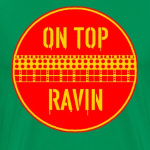 rzhw_on-top-ravin T-Shirts - Men's Premium T-Shirt
