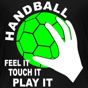 Handball - feelt it, touch it, play it T-Shirts - Kinder Premium T-Shirt