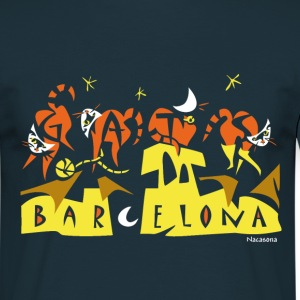Man T-shirt 4Gats Barcelona - Men's T-Shirt