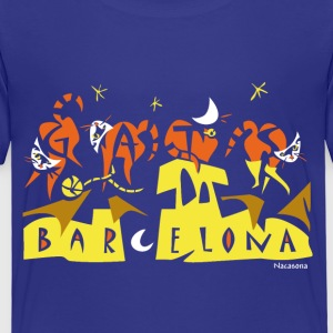 Children T-shirt - Barcelona Art - Kids' Premium T-Shirt
