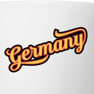 MD Typo Country Germany Flaschen & Tassen - Tasse