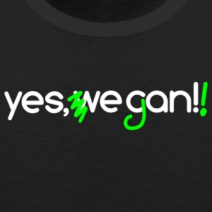 Yes, we can vegan! | Veganer | Veggie | Vegetarier - Männer Premium Tank Top