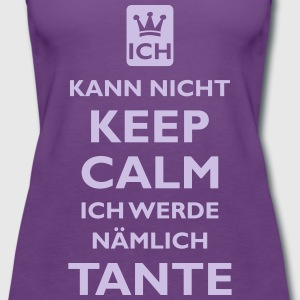 KEEP CALM TANTE - Frauen Premium Tank Top