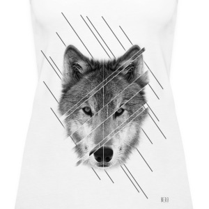 wolf Tops - Frauen Premium Tank Top