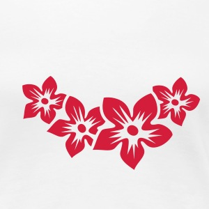 four flowers (1c) T-Shirts - Women's Premium T-Shirt