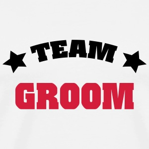Team Groom T-shirts - Premium-T-shirt herr