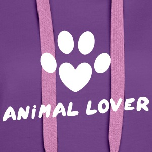 Animal Lover Hoodies & Sweatshirts - Women's Premium Hoodie