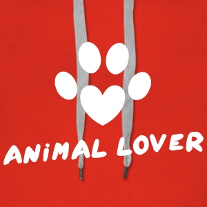 Animal Lover Sweat-shirts - Sweat-shirt à capuche Premium pour femmes
