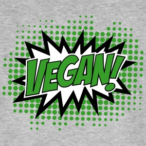 Vegan, Comic Book Style, Green, Explosion, 3c T-Shirts - Men's Organic T-shirt