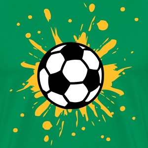 Football, Splash, Soccer, Splatter,  Tee shirts - T-shirt Premium Homme