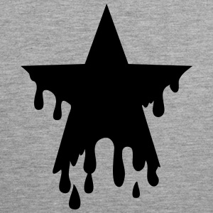 Star punk blood anarchy symbol revolution against T-Shirts - Men's Premium Tank Top
