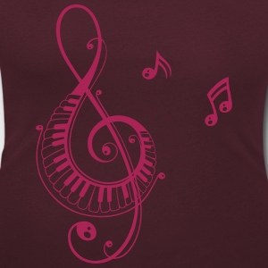 Notenschlüssel, Musik, music, clef T-Shirts - Women's Scoop Neck T-Shirt
