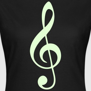 Music, sheet music, classical, note, band, choir T-Shirts - Women's T-Shirt