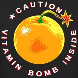 Vitamin Bomb Inside - White T-Shirts - Frauen Bio-T-Shirt
