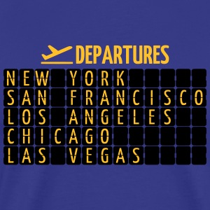 Departures Tee shirts - T-shirt Premium Homme
