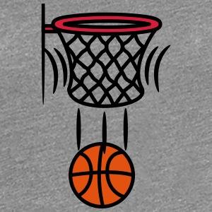 Basketball korb point T-Shirts - Frauen Premium T-Shirt