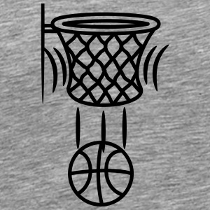 Basketball korb point T-Shirts - Männer Premium T-Shirt