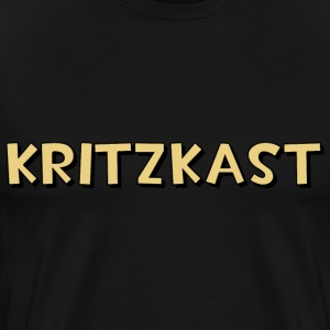 kritzkast name T-Shirts - Men's Premium T-Shirt
