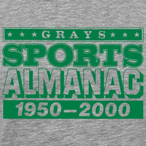 Grays Sports Almanac T-Shirts - Men's Premium T-Shirt