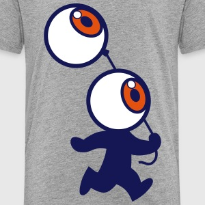 Mr Globe Oculaire et son Ballon - Cheerful Madness Tee shirts - T-shirt Premium Enfant