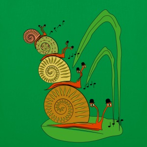 snails in the garden          Bags & Backpacks - Tote Bag