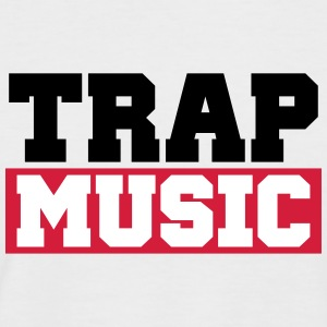 TRAP MUSIC - BASS PARTY Tee shirts - T-shirt baseball manches courtes Homme