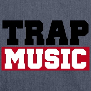 TRAP MUSIC - BASS PARTY Borse & zaini - Borsa in materiale riciclato