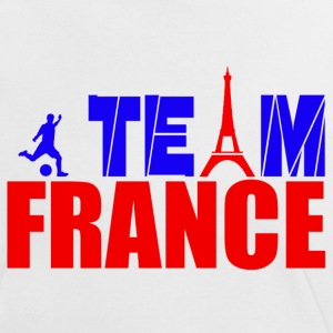 team france T-shirts - Vrouwen contrastshirt