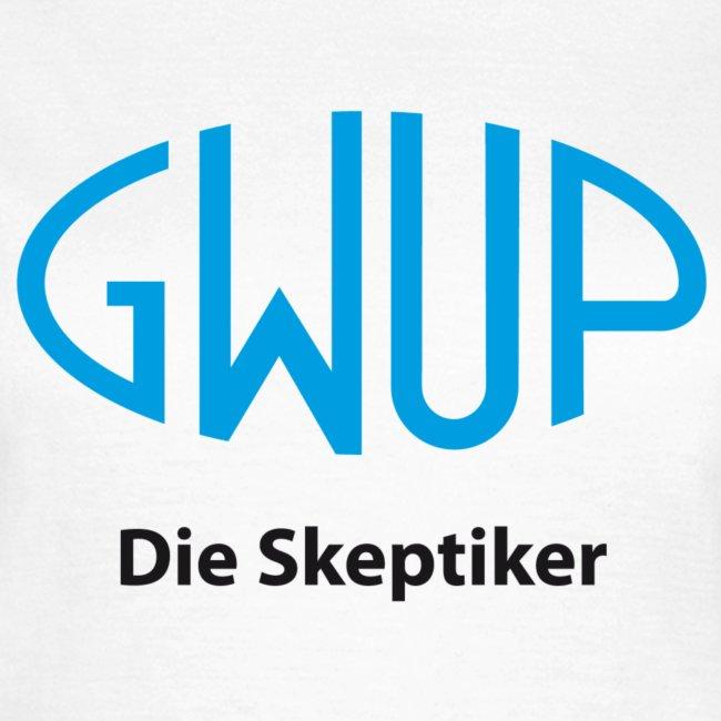 "Damenshirt Rundhals ""GWUP-Logo"""