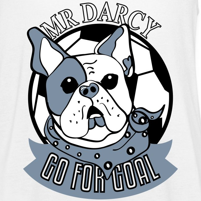 Mr Darcy GO FOR GOAL Damen Tanktop silbermetallic