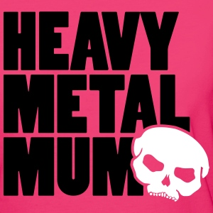 heavy metal mum T-Shirts - Frauen Bio-T-Shirt