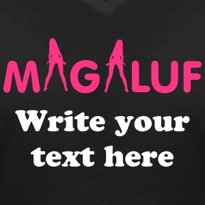 Magaluf  T-Shirts - Women's V-Neck T-Shirt