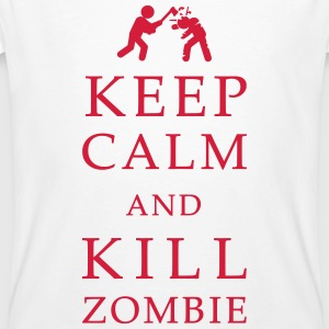 Keep calm and kill zombie Tee shirts - T-shirt bio Homme
