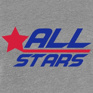 Cool Allstars Logo Design T-Shirts - Women's Premium T-Shirt